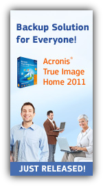 Acronis True Image Home 2011 Download