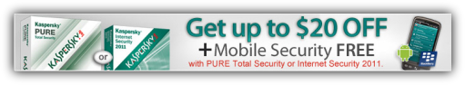 Kaspersky Pure Total Security Coupon $20 Discount Offer + Free Mobile Security