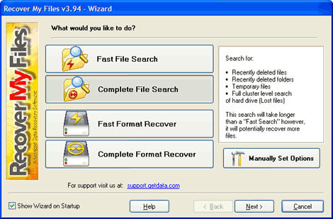 recover my files full download