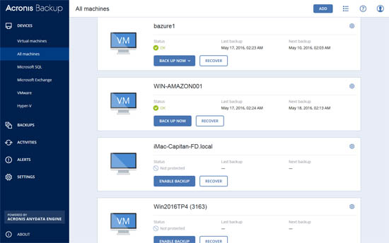 acronis backup advanced 12 overview